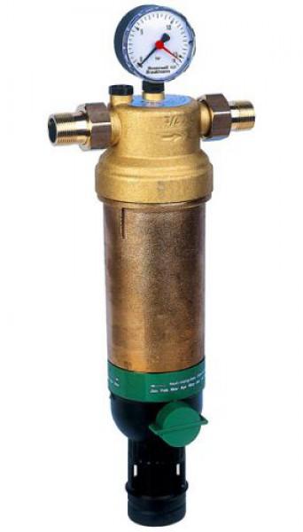 Фильтр с обратной промывкой для горячей воды Honeywell F76S AAM