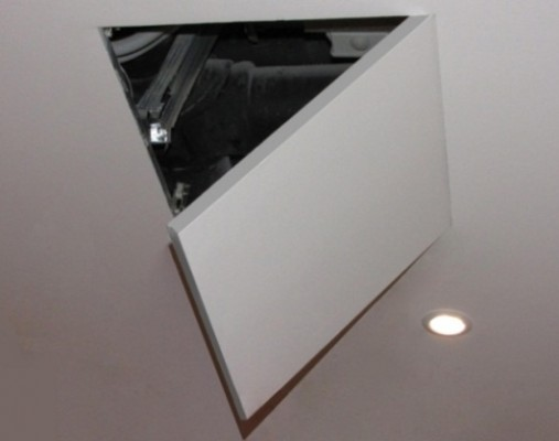 Люк под покраску Планшет Короб 20х20 (для стен и потолков)