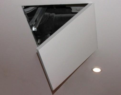 Люк под покраску Планшет Короб 40х40 (для стен и потолков)