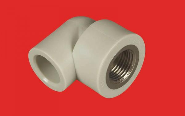 Муфта угловая FV-Plast 20 x 1/2 ВР