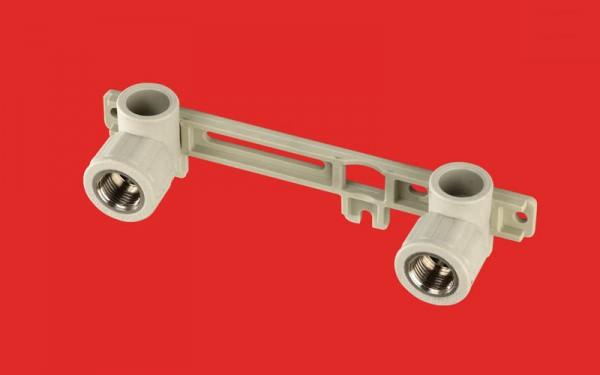 Настенное колено двойное для смесителя FV-Plast