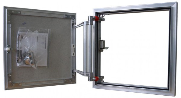 Нажимной люк-невидимка под плитку Практика ЕвроФормат ЕТР 60x100