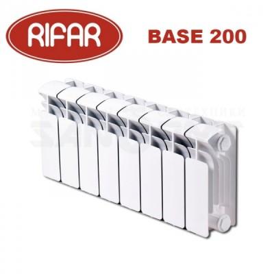 Радиатор биметаллический Rifar Base 200 4 секции