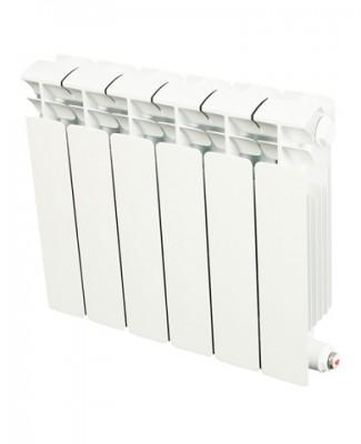 Радиатор биметаллический Rifar Base Ventil 200/4 4 секции, НП, левое, BVL