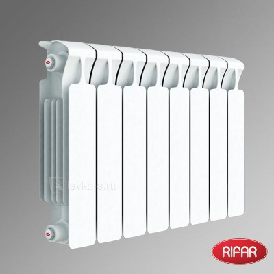 Радиатор биметаллический Rifar Monolit 350 6 секций