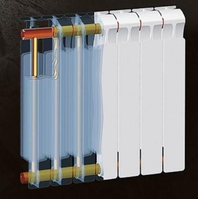 Радиатор биметаллический Rifar Monolit 500 8 секций