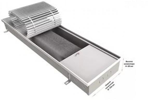 Встраиваемый в пол (внутрипольный) конвектор EVA KTT80-900 без вентилятора, 230 Вт