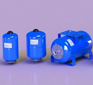 Расширительный бак водоснабжения Stout STW-0003-000080 горизонтальный